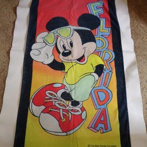 Walt Disney Company Mickey Mouse Beach Towel